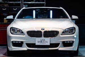 BMW M6ガラスコーティング施工